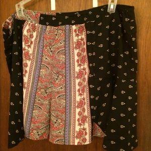Pants - Silky boho shorts